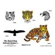 0006-0010 stencils 0006-0010