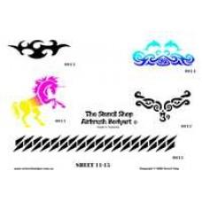 0011-0015 stencils