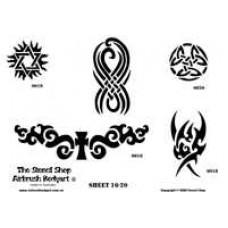 0016-0020 stencils