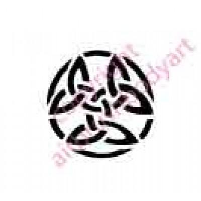 0020 celtic re-usable stencil