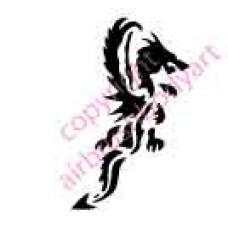 0022 dragon re-usable stencil