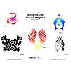 0031-0035 stencils