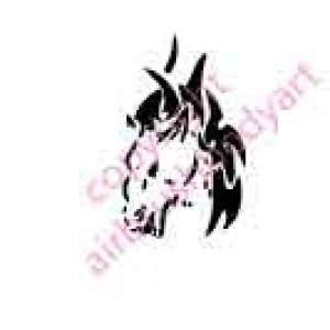 0035 horse re-usable stencil