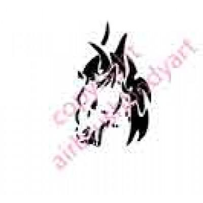 0035 horse re-usable stencil