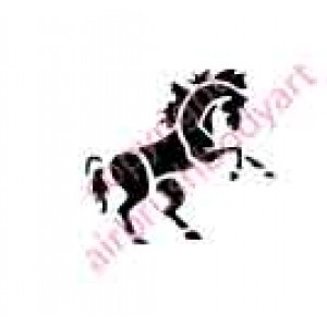 0040 horse re-usable stencil