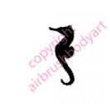 0053 seahorse re-usable stencil