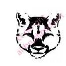 0059 cougar re-usable stencil
