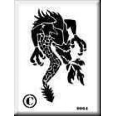 0064 reusable dragon stencil