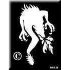 0064b reusable dragon stencil backing