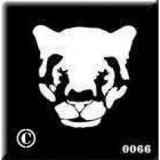 0066 reusable panther stencil