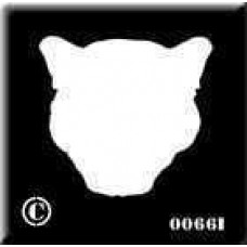 0066b reusable panther backing stencil