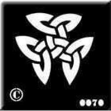 0070 reusable celtic stencil