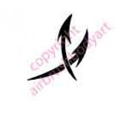 0076 arrows re-usable stencil