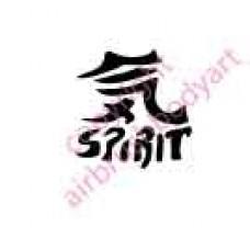 0083 spirit re-usable stencil
