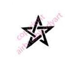 0091 star re-usable stencil