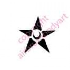 0092 star re-usable stencil