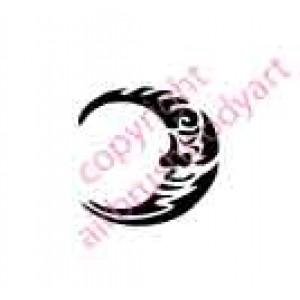 0096 moon re-usable stencil