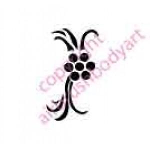 0111 plant re-usable stencil
