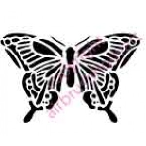 0128 butterfly re-usable stencil