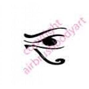 0130 Eye of Ra re-usable stencil