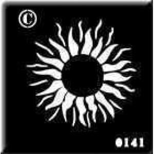 0141 reusable sun stencil