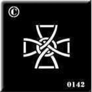 0142 reusable celtic stencil