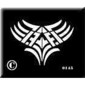 0145 reusable tribal stencil