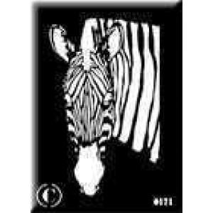 0171 reusable zebra stencil