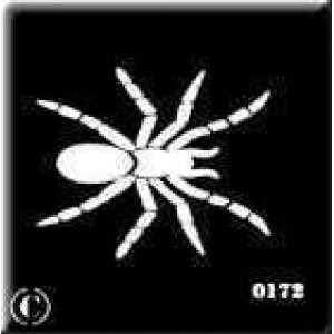 0172 reusable spider stencil