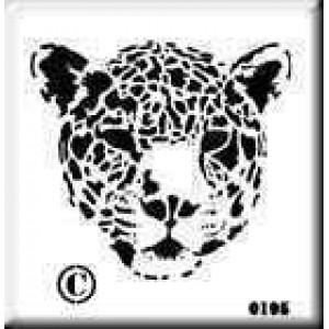 0195 reusable panther stencil