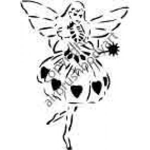 0238 fairy reusable stencil
