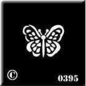 0395 reusable butterfly stencil