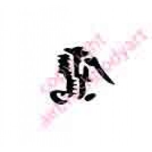 0424 kanji/chinese writing eagle