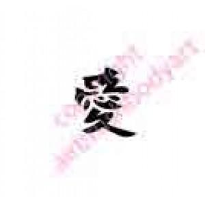 0425 kanji/chinese writing love