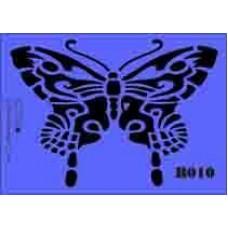 b10 xxl butterfly stencil 250mm x 350mm