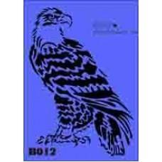 b12 xxl eagle stencil 250mm x 350mm