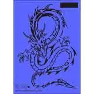 b18 xxl dragon stencil 250mm x 350mm