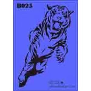 b25 xxl tiger stencil 250mm x 350mm