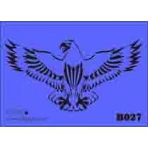 b27 xxl eagle stencil 250mm x 350mm