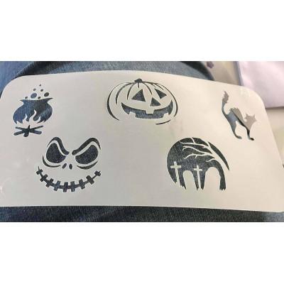 Halloween 2 stencil