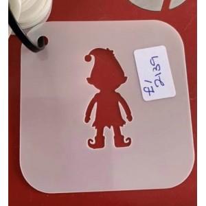 Elf reusable stencil