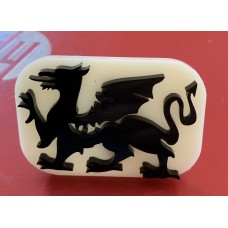 017 Welsh Dragon Glitter Stamp