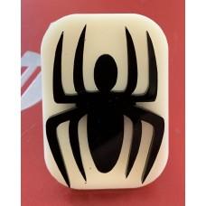 040 Spider Glitter Stamp