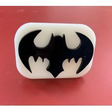 001 Bat Glitter Stamp