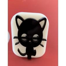 061 Cat Glitter Stamp