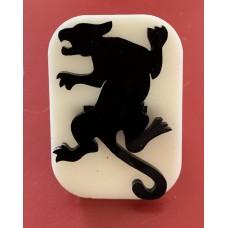 055 Jaguar Glitter Stamp