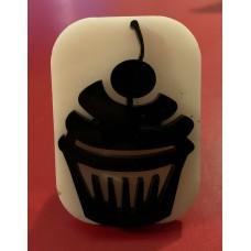 080 cupcake reusable glitter stamp