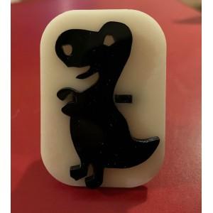 085 dinosaur reusable glitter stamp