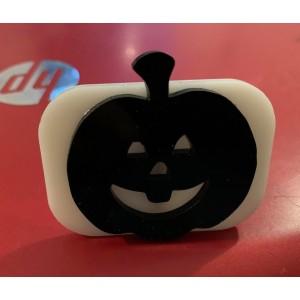 087 pumpkin reusable glitter stamp