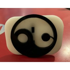 090 ying yang reusable glitter stamp